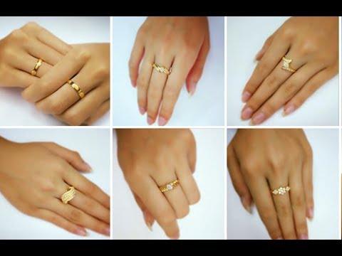Women Gold Finger Ring Designs