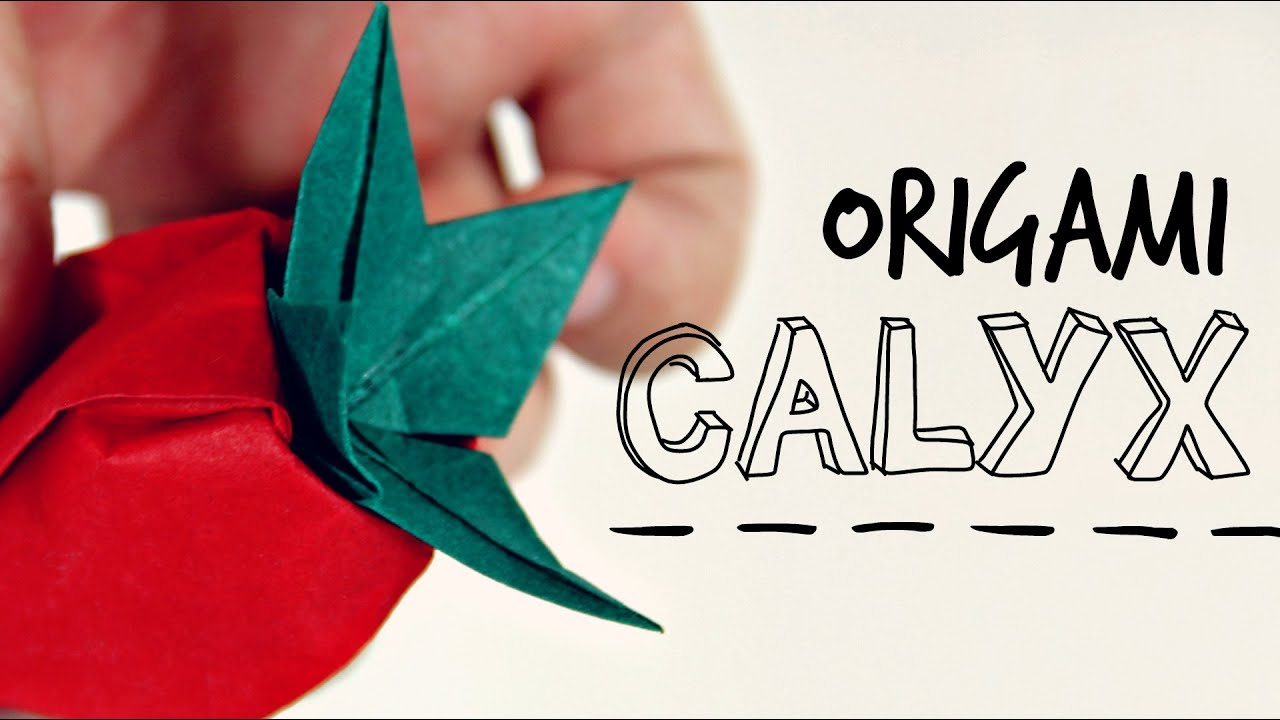 Origami Calyx (For Mori's Rose) - YouTube - photo#31