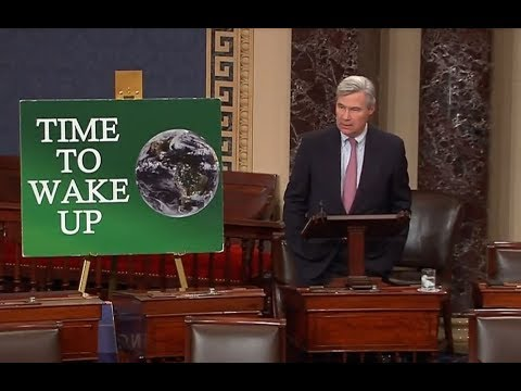 Time to Wake Up: Storms of Change are Brewing: Sen. Sheldon Whitehouse (November 2017)
