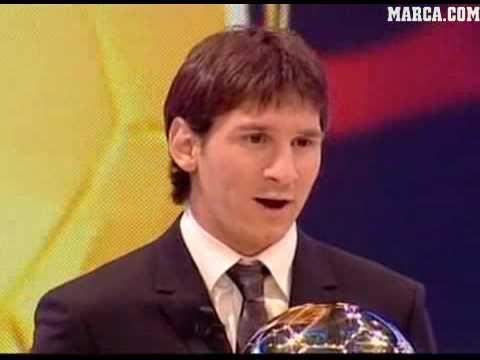 Leo Messi Ballon D'Or 2009
