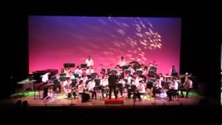 青梅市青少年吹奏楽団 第44回定期演奏会第1部より 2013.10.19.