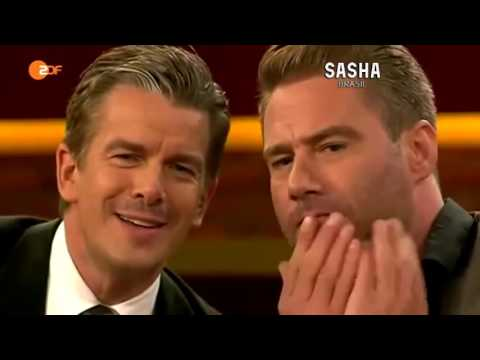 SASHA® On Markus Lanz Talkshow (ZDF)
