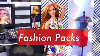 Unbox Daily:  Barbie Fashion Packs | ALL NEW Fashion & Accessories