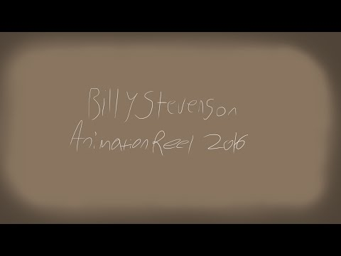 Billy Stevenson: 2016 Animation Reel