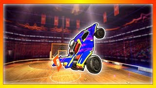 This is the Best Game Mode In Rocket League (Ranked Hoops Highlights & Best Moments)