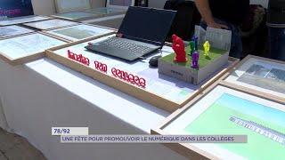 Yvelines | 78/92 : une fête pour promouvoir le numérique dans les collèges