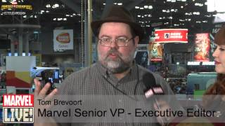 Tom Brevoort Gives the Scoop on Some New Announcements at NYCC 2014