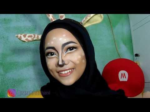 giraffe-fantasy-makeup-tutorial-#nandaarsyintabday