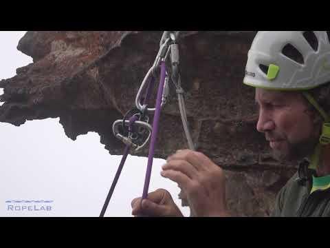 Rock Climbing: Releasable Abseil Anchor