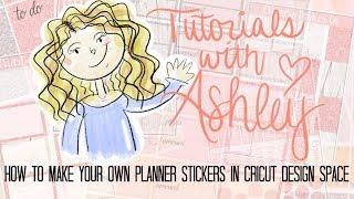 CRICUT TUTORIALS   How to Make Planner Stickers in Cricut Design Space