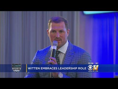 Jason Witten Embraces Leadership Role