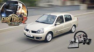 Euro Truck Simulator 2 - Renault Clio Symbol Modu - Direksiyon Seti İle
