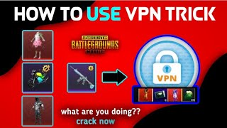 HOW TO USE VPN IN PubG MOBILE || NEW VPN TRICK PUBG MOBILE || VPN TRICK ||