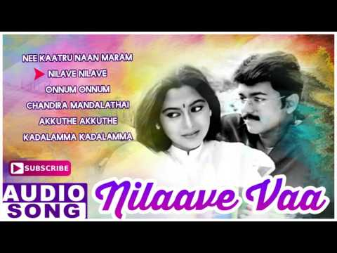 Nilaave Vaa Tamil Movie | Audio Jukebox | Vijay | Suvalakshmi | Vidyasagar | Music Master