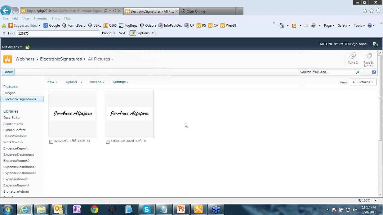 InfoPath: Signing InfoPath Forms - Part 1 - Electronic Signatures ...