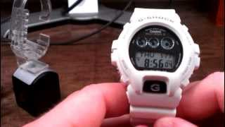GW6900A-7 White Solar Atomic Multi Band 6 Casio G-Shock Watch Review
