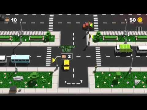 Loop Taxi (by Gameguru) - arcade game for android - gameplay.
