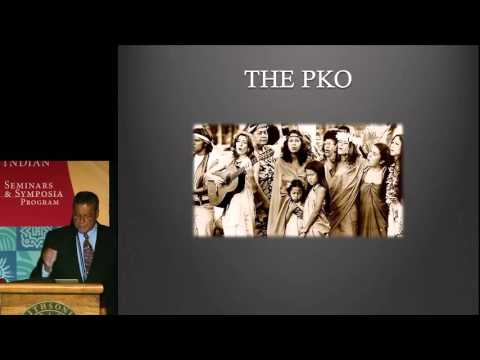 Hawaiian Sovereignty Symposium 4: Jonathan Kamakawiwo'ole Osorio