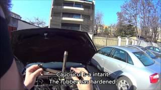 Curatat epurator si furtune gaze ( cleaning PCV valve and hoses ) Focus 1.6