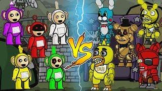 SLENDYTUBBIES vs FNAF | Scribblenauts Unlimited Gameplay PART 1