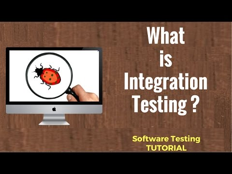 What is Integration Testing?   Software Testing Tutorial