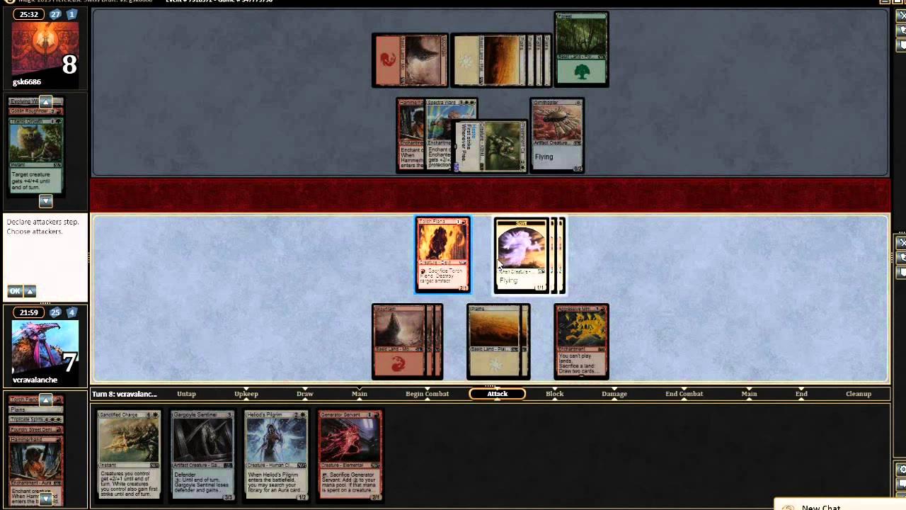 M15 Draft Game 1 - Magic the Gathering Online - YouTube