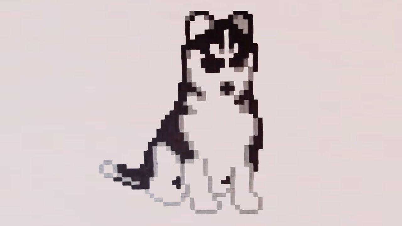 Comment Dessiner Un Chien Pixel Art