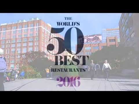 Welcome to The World's 50 Best Restaurants 2016