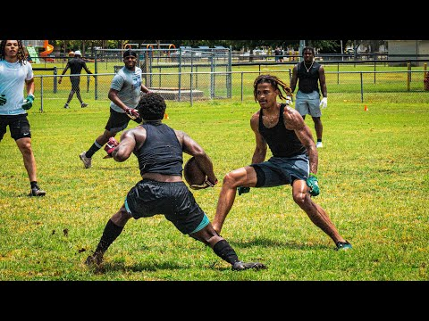 HS FRESHMEN EXPOSE NFL AND D1 FOOTBALL PLAYERS DURING 7ON7S! (WINNER GETS $1000)