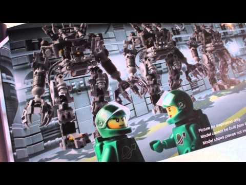 Review of LEGO Exo-Suit 21109