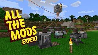 All The Mods Expert Mode - POWERED UP [E19] (Minecraft Expert Mod Pack)
