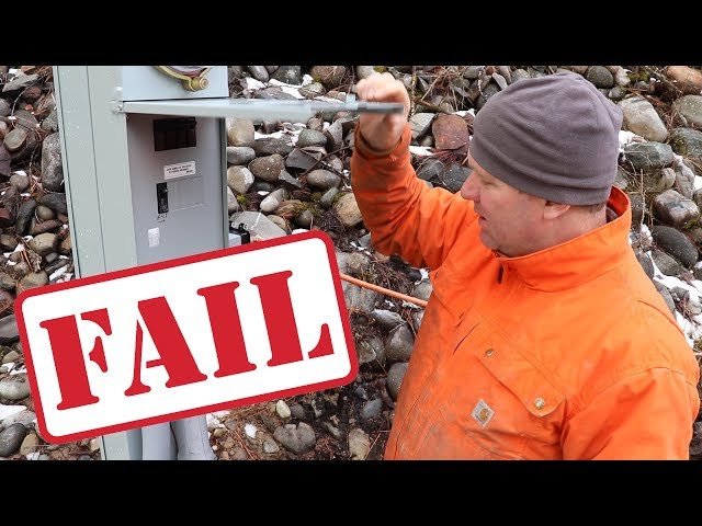 We FAILED OUR ELECTRICAL INSPECTION! Now What?!