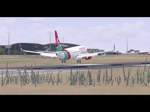 FSX HD] NEW KAMUZU AIRPORT PHOTOREAL (FWKI), KIA, Malawi