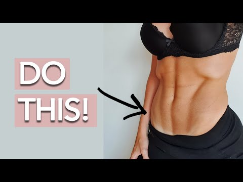 Visible Lower Abs (3 Exercises!)