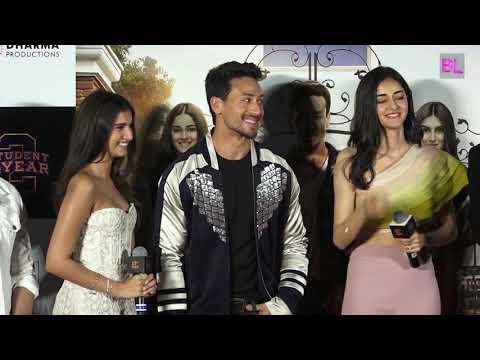 Student of the Year 2 official trailer launch | Tiger Shroff, Ananya Pandey, Tara Sutaria | Uncut 02