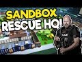 Building the Ultimate Police Station in Sandbox Mode! - Rescue HQ Tycoon Gameplay