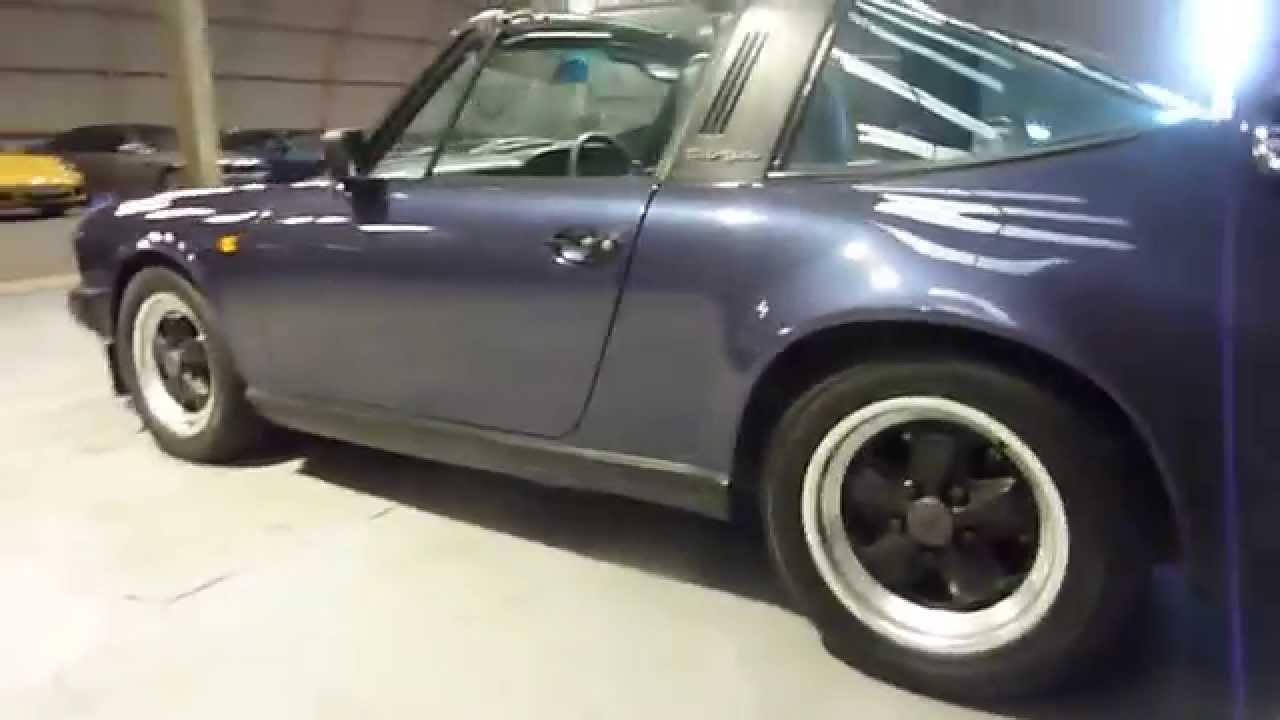 Porsche 911 targa 32 blue walkaround review youtube porsche 911 targa 32 blue walkaround review vanachro Gallery