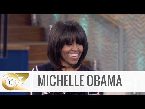 Michelle Obama on Aging Gracefully and Handling Criticism