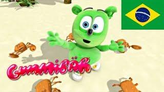 """Cho Ka Ka O"" - Brazilian Version - Ursinho Gummy (Gummibär) Gummy Bear"