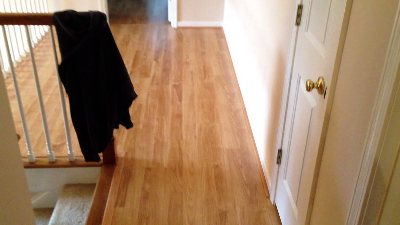Light Color Pergo Laminate Flooring - YouTube
