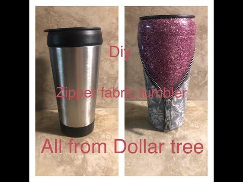Diy Dollar Tree Glitter Tumbler
