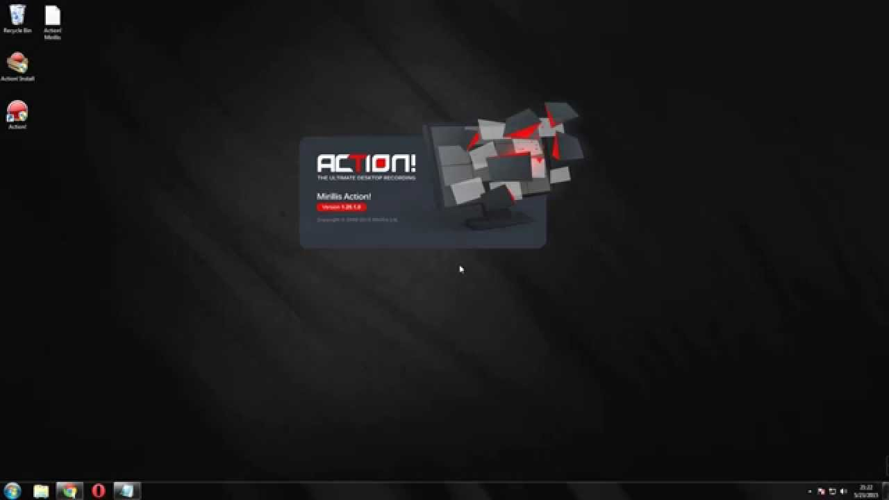 How to record PC Screen Full HD 2015 Action! Mirillis - YouTube