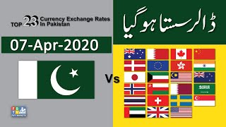 Dollar Rate Today | Forex  Exchange Rate | 07-04-2020 | Dollar To PKR | FBTV Markets