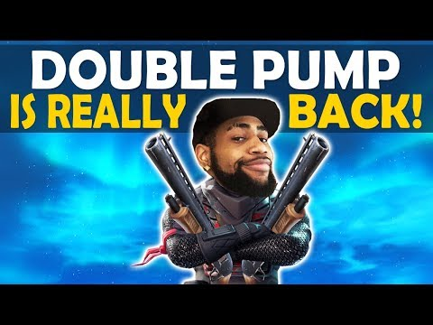 DOUBLE PUMP IS BACK | DOUBLE PUMP ONLY BUILD BATTLES | HOW TO DOUBLE PUMP SEASON 7! thumbnail