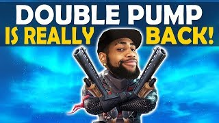 DOUBLE PUMP IS BACK | DOUBLE PUMP ONLY BUILD BATTLES | HOW TO DOUBLE PUMP SEASON 7!