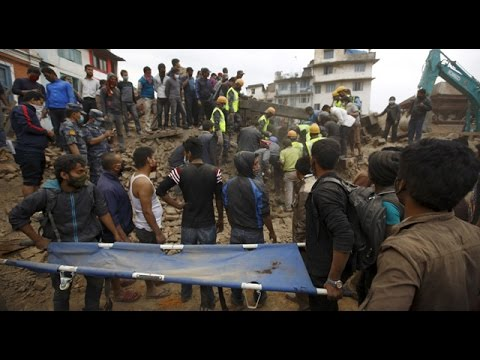 Shock and fear in Nepal after deadly earthquake