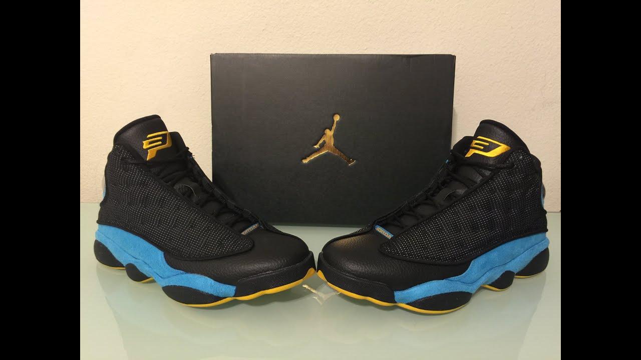 official photos fd401 d262d Jordan Retro 13 CP3 PE unbox and review