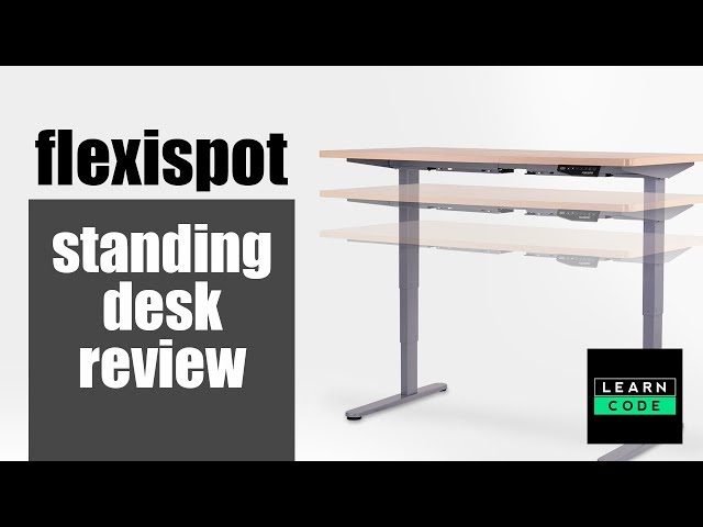 Flexispot Standing Desk Review - And Why You Need a Sit Stand Desk!