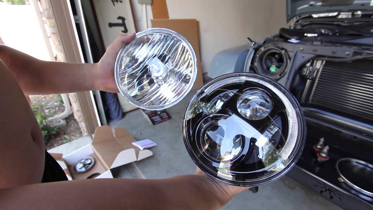 jw speaker 8700 evo j headlight installation youtube. Black Bedroom Furniture Sets. Home Design Ideas