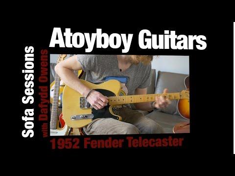 1952 Fender Telecaster 100% Original One Owner Investment Grade - Atoyboy Guitars